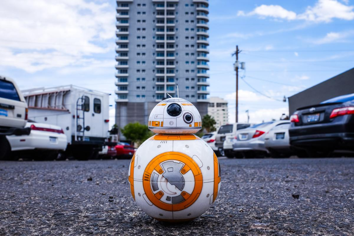 BB8 from Star Wars.